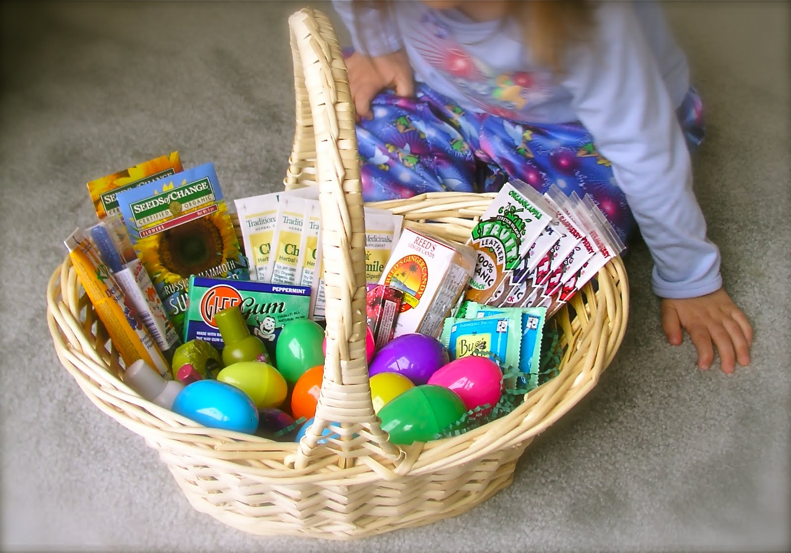 Nourishing meals healthy easter basket ideas negle Gallery