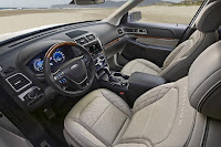 Ford Explorer Platinum (2016) Interior