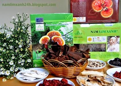3 dòng sản phẩm nấm lim xanh của công ty TNHH Nông lâm sản Tiên Phước