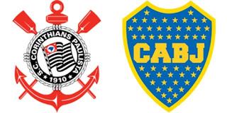 Corinthias x Boca Jogo ao vivo Libertadores 2012