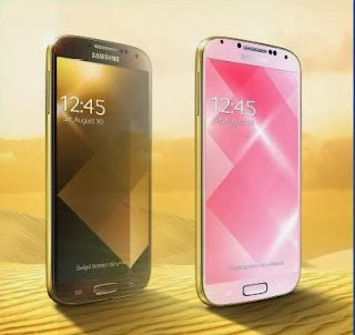 Samsung made another bold step towards the Galaxy perfection...Introduced Samsung Galaxy S4 Gold