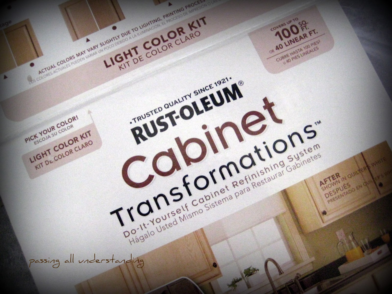 "Painting Vs Staining Bathroom Cabinets grace leads me home: painting the bathroom cabinets, or ""rustoleum"