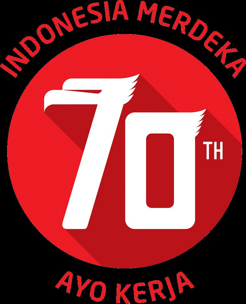 Desain Spanduk HUT RI Ke 70 dan Logo