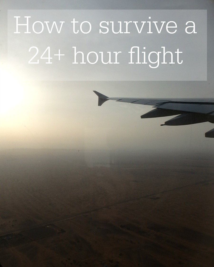 How to survive a 24 hour flight