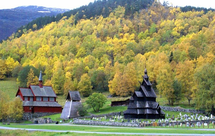 Norway's oldest wooden church