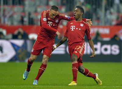 Bayern Monaco-Juventus 2-0 highlights