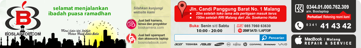 Laptop Bekas - Laptop Second - Laptop Malang - Servis Laptop