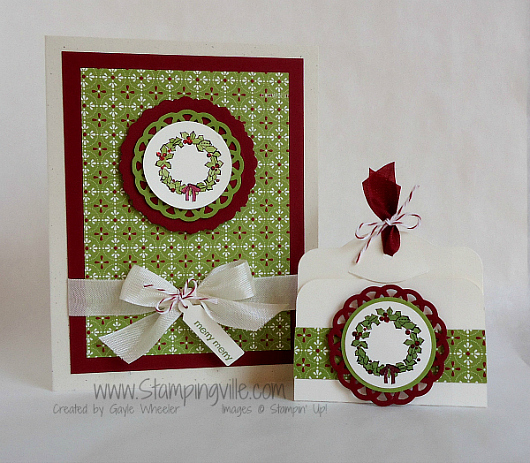 Stampin' Up! Happy You Stamp Set Christmas Card
