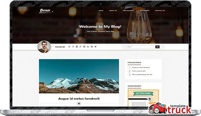 Boxer Blogger Template - Blogger Templates 2018 - Best Free ...