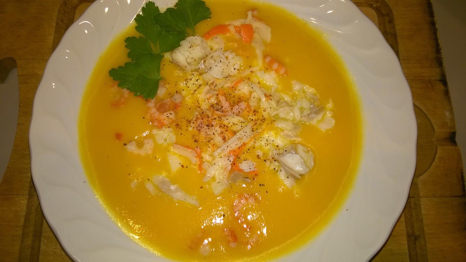 Mes julie gourmandises soupe de carottes et poisson thermomix - Soupe de brocolis thermomix ...