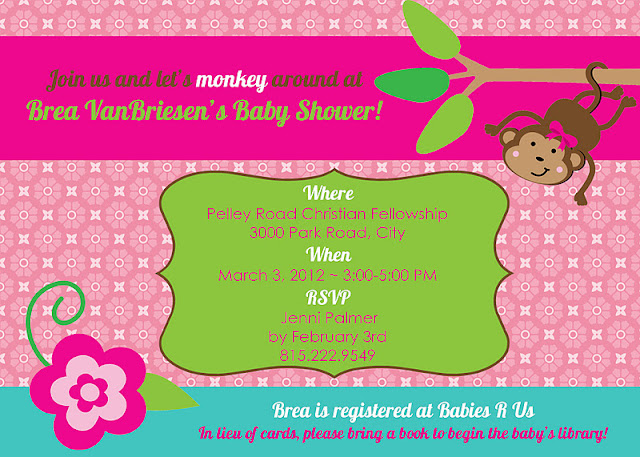 free printable baby shower invitations monkey theme www