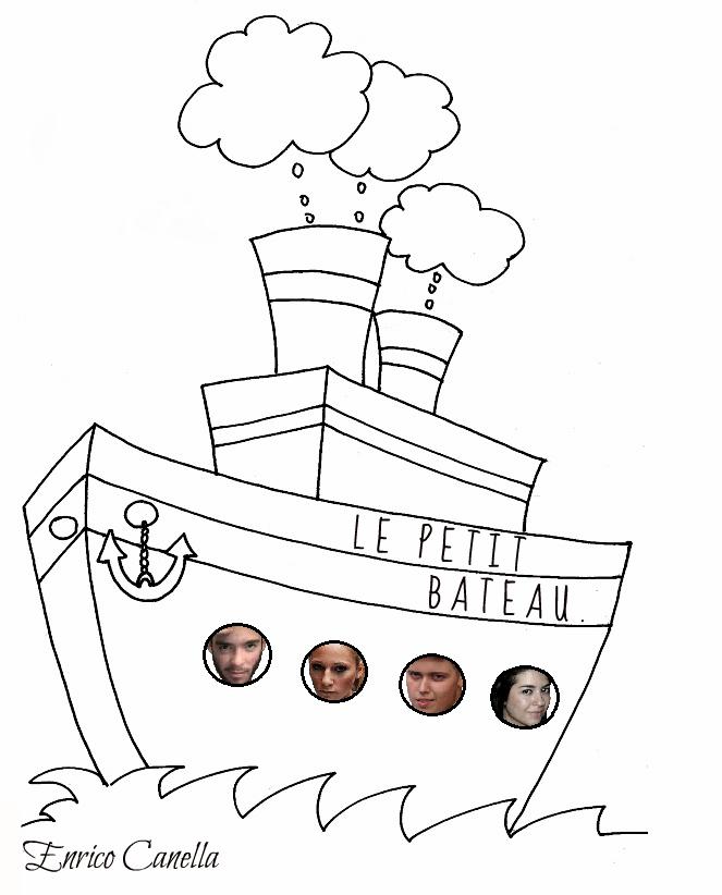 Le petit bateau.