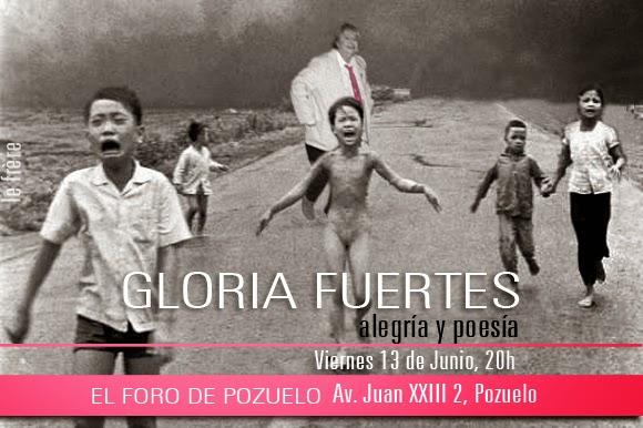 """""""Gloria Fuertes"""",""""Pozuelo"""",""""Foro de Pozuelo"""",""""Exposición"""",""""viernes"""""""