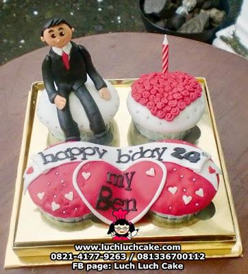 Cupcake Romantis Untuk Pasangan Daerah Surabaya - Sidoarjo