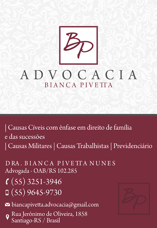 Advocacia Bianca Piveta/Santiago-RS