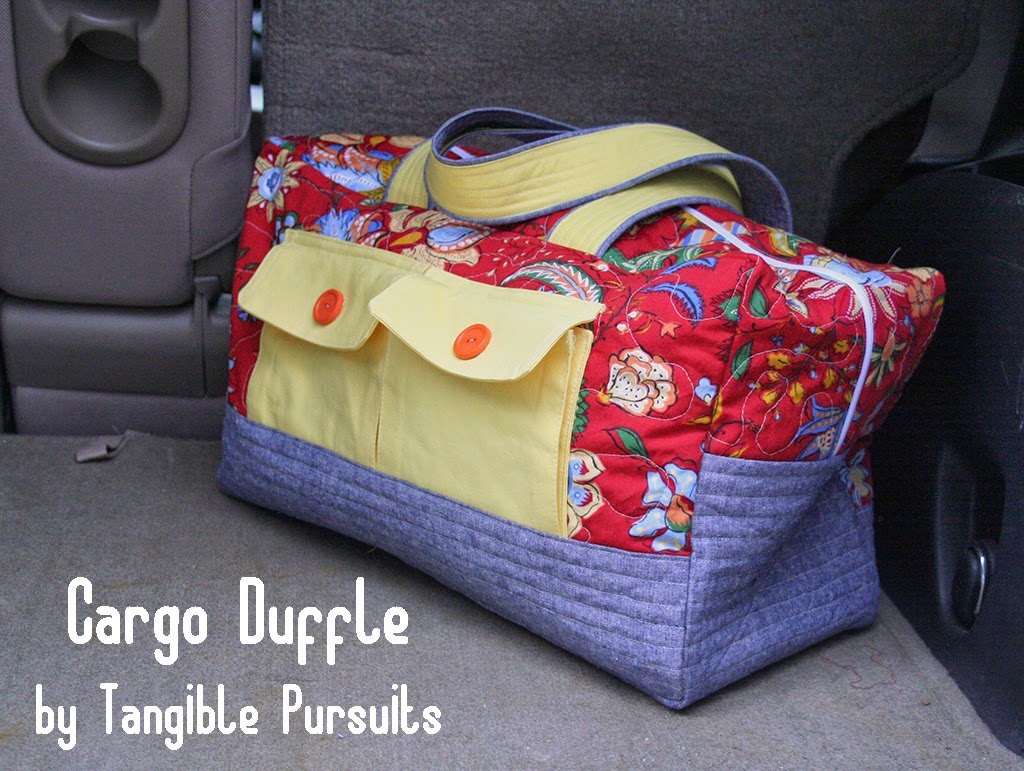 Tangible Pursuits: Cargo Duffle
