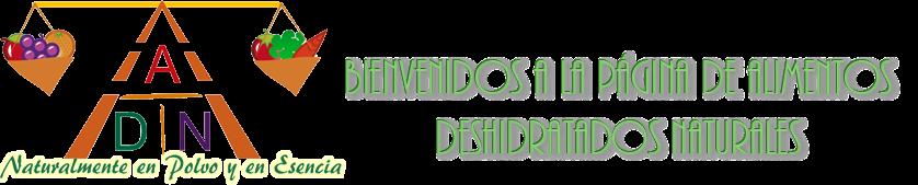 Alimentos Deshidratados Naturales - México