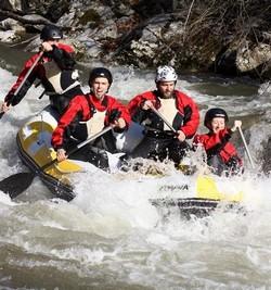 Rafting felszerelés