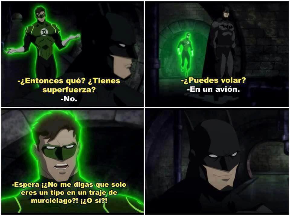 Batman es el mejor héroe