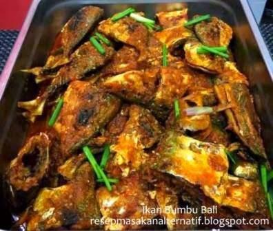 Resep Membuat Ikan Goreng Bumbu Bali