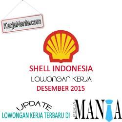 Lowongan Kerja Shell Indonesia Desember 2015