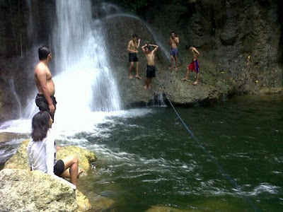 Mountaineering adventure in Bagsak Falls - Zaragoza, Manay, Davao Oriental