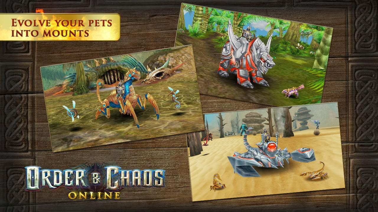 Order & Chaos Online android game
