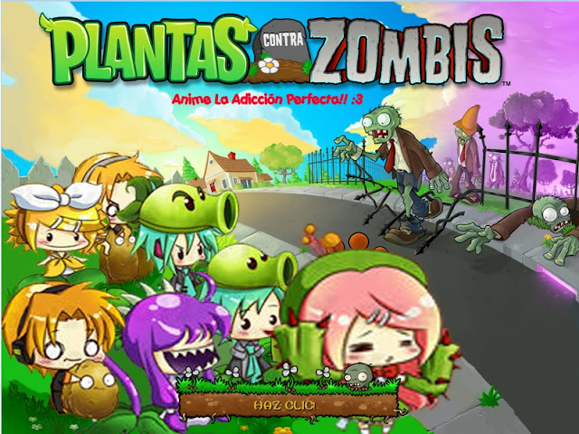Plantas Vs Zombies (Version: Vocaloids)