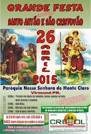 Virmond:Vem a grande festa em Louvor a Santo Antão e São Cristovão