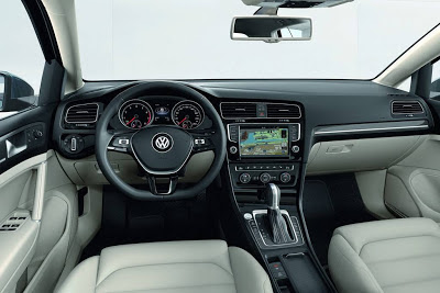 Volkswagen Golf 2013 - interior - coches y motos 10