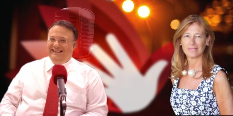 Pilar Muñoz y César Vidal en Radio Solidaria