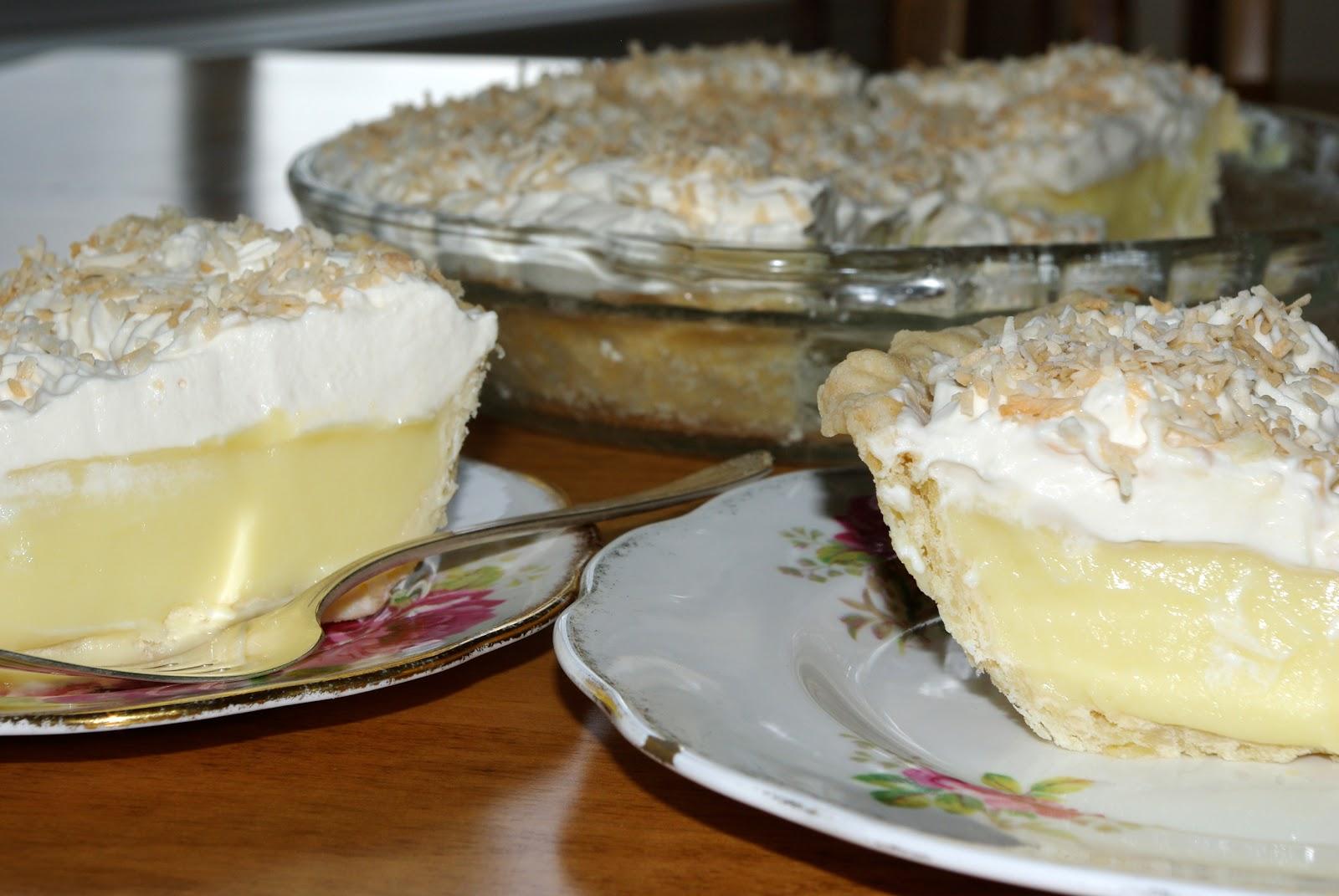 Mennonite Girls Can Cook: Coconut Cream Pie