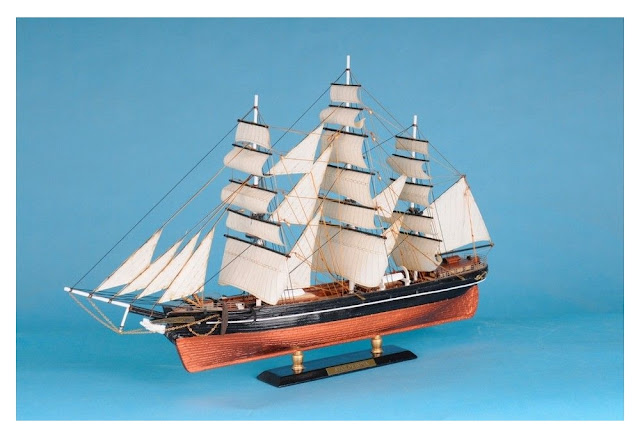 Clipper Star Of India Model Ship
