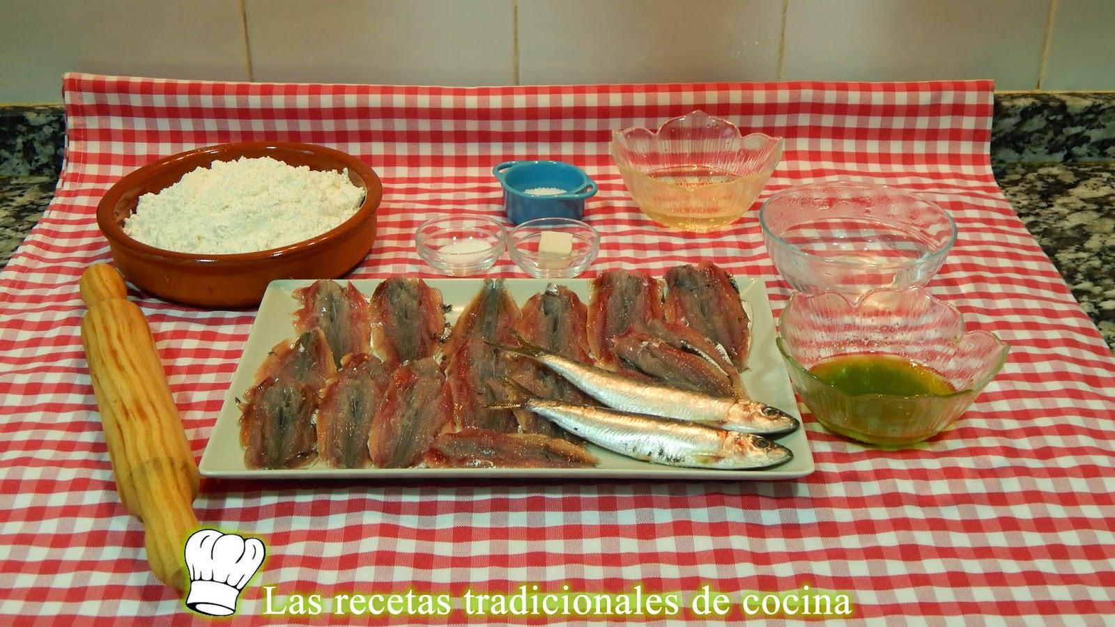 Receta de tortitas de sardina