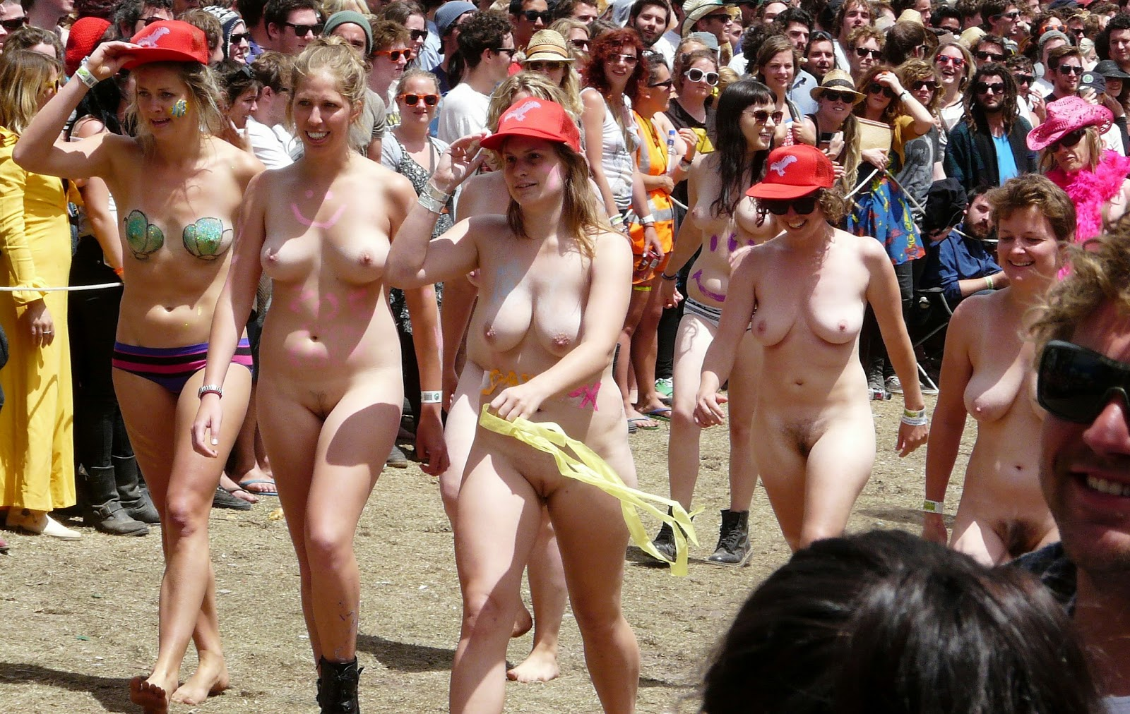 Final, College naked run girl opinion