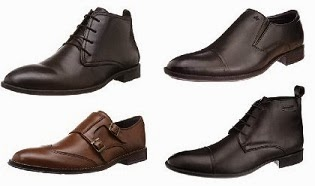 Flat 50% Off on Hush Puppies Men's Formal Shoes | Flat 40% Off on Arrow Men's Formal Shoes @ Amazon