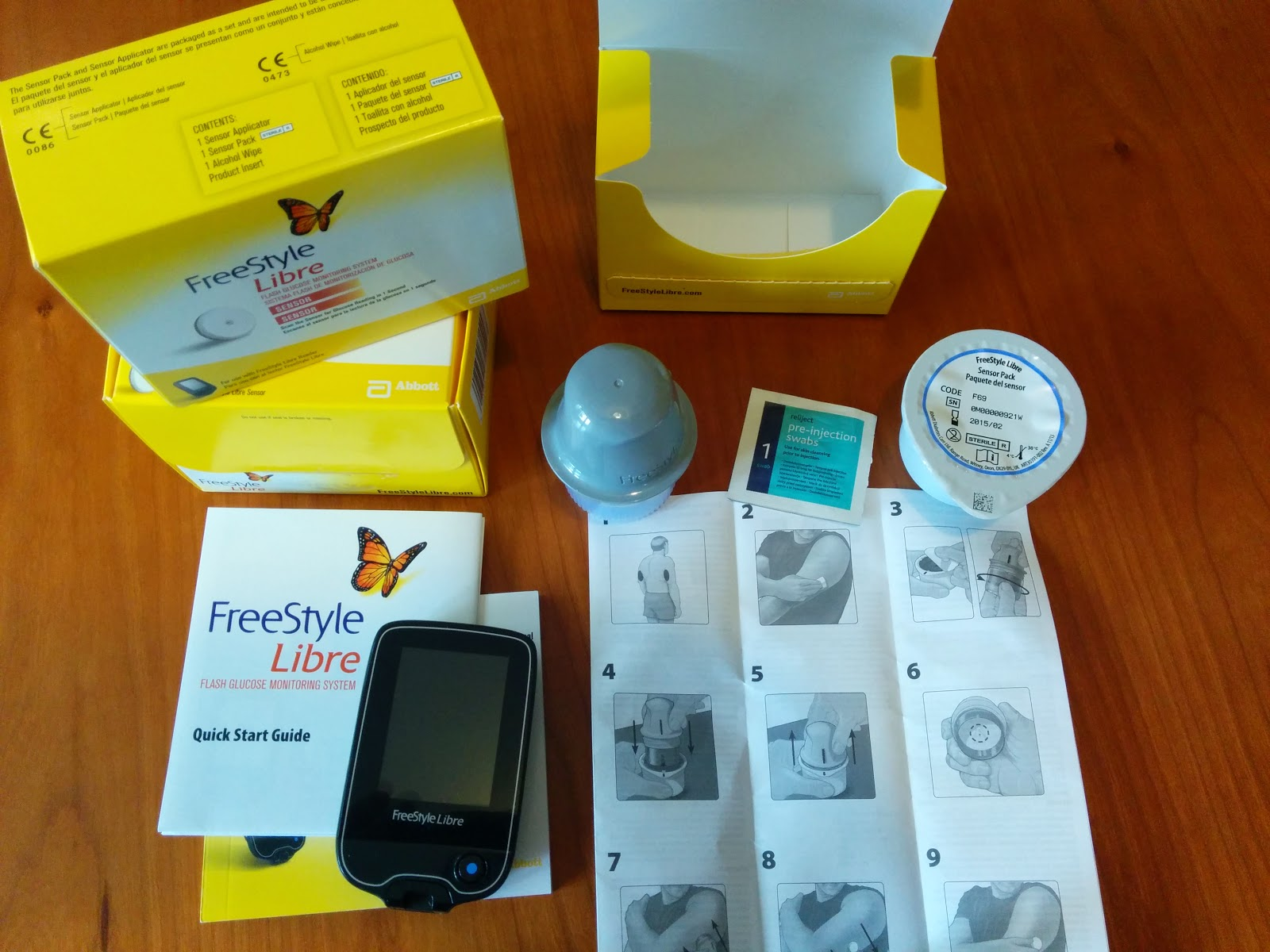 Buy freestyle libre flash glucose monitoring system