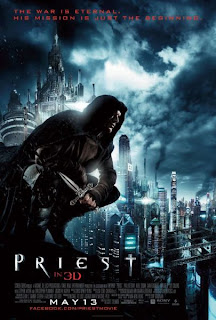 Watch Priest 2011 BRRip Hollywood Movie Online | Priest 2011 Hollywood Movie Poster