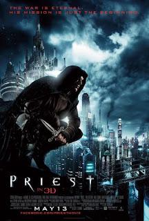 Watch Priest 2011 BRRip Hollywood Movie Online | Priest 2011 Hollywood Movie Poster
