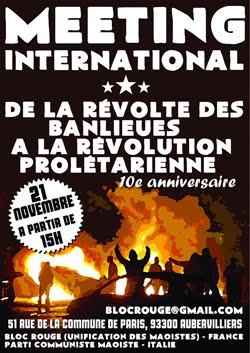 From the Revolt in The Banlieues to the Proletarian Revolution
