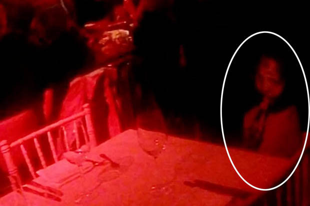 National Paranormal Association Demon Ghost Caught On