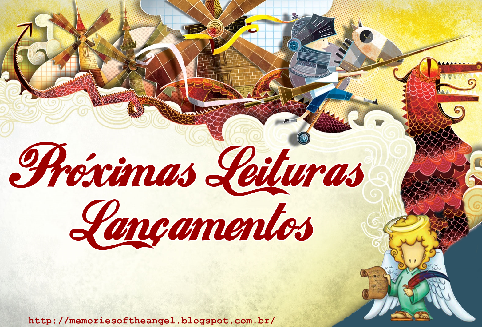 Próximas Leituras - Memories of the Angel