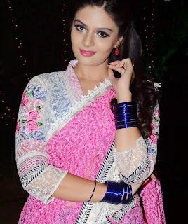 Sreemukhi hot stills at Andhra Pori Movie Audio Launch