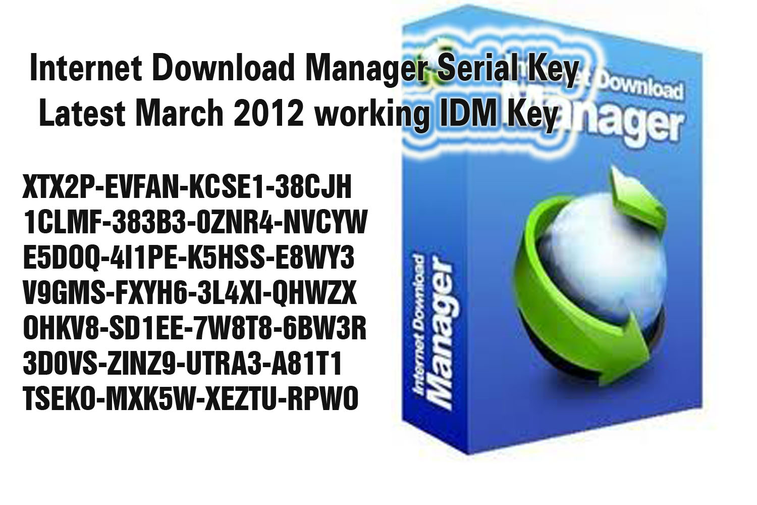 Internet manager v5.12.11 working keygen