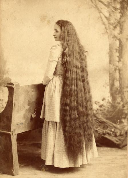 vintage of edwardian rapunzels