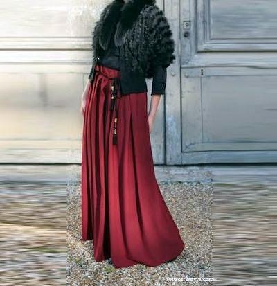 Hijab style jupe