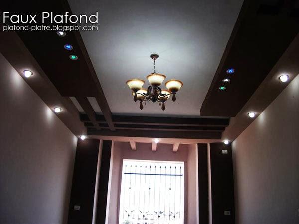 Faux Plafond Bois Et Platre : Faux plafond
