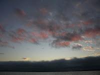 Genovesa Darwin Bay at Sunset