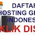 Mendaftar Hosting Gratis 2 GB Indonesia