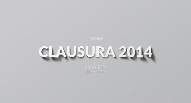 Poster oficial del Torneo Clausura 2014 del futbol mexicano Liga MX | Ximinia